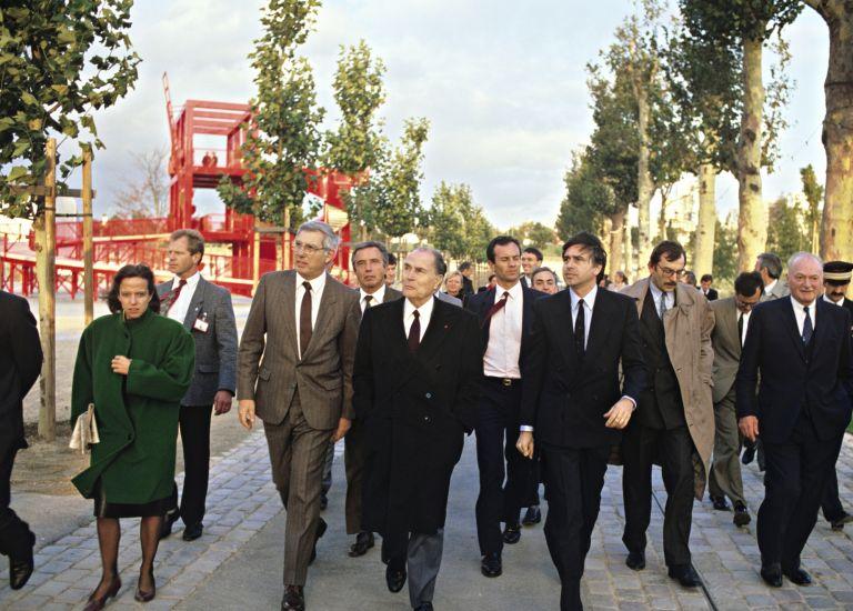 12 octobre 1987 - Inauguration du parc de la Villette
