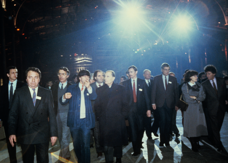 25 janvier 1985 - Inauguration de la Grande Halle de La Villette