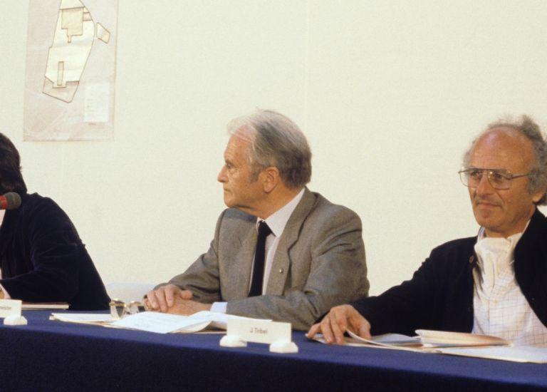 1982 - Conférence de Presse lancement du parcours du parc