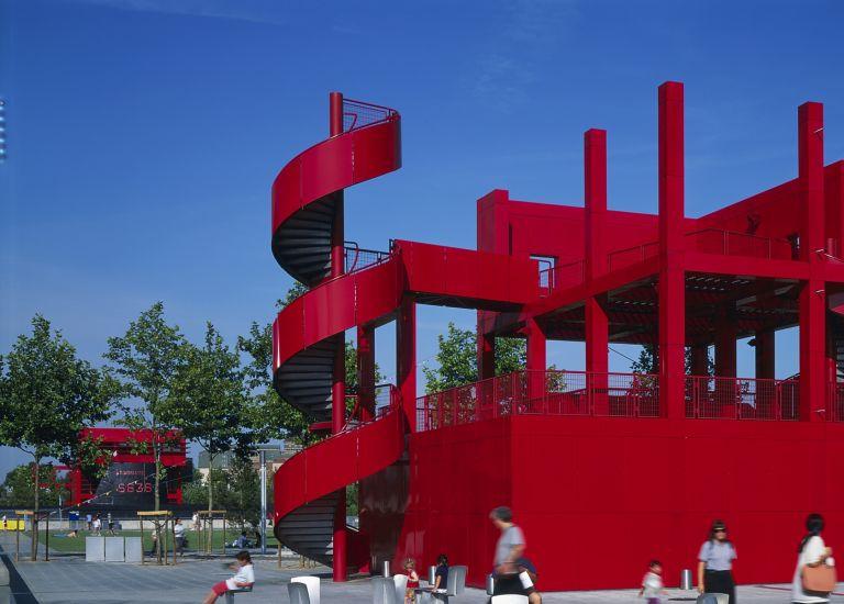 Chaises Philippe Starck dans le Parc de la Villette